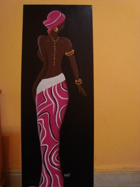 Moldes de africanas en mdf buscar con google negras - Pintar con acrilicos paso a paso ...