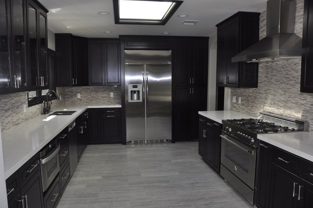 Mtd Kitchen North Hollywood Ca United States Dark Kitchen Cabinets Kitchen Cabinets Kitchen