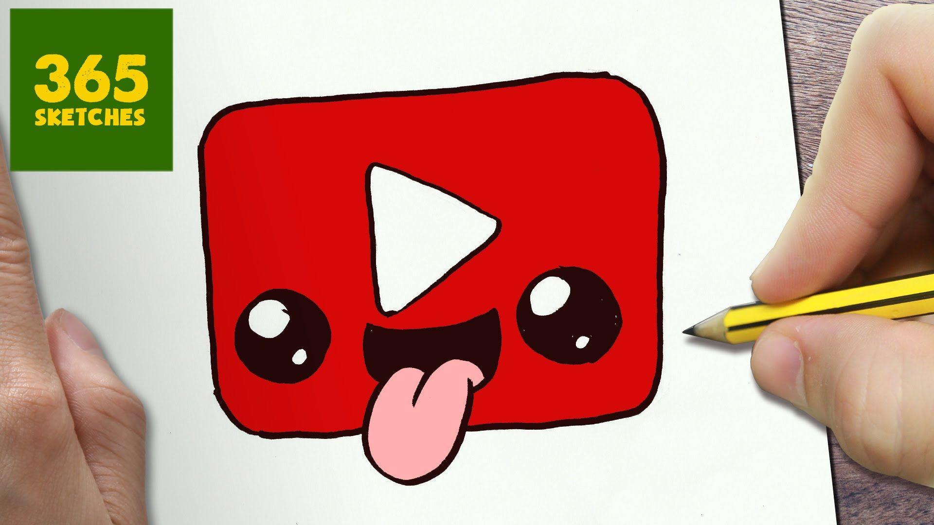 Youtube Doodle Cute Easy Drawings Drawing For Kids Cute Kawaii Drawings