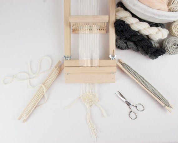 Beginners Rigid Heddle Loom 4 inch RH-4 image 4