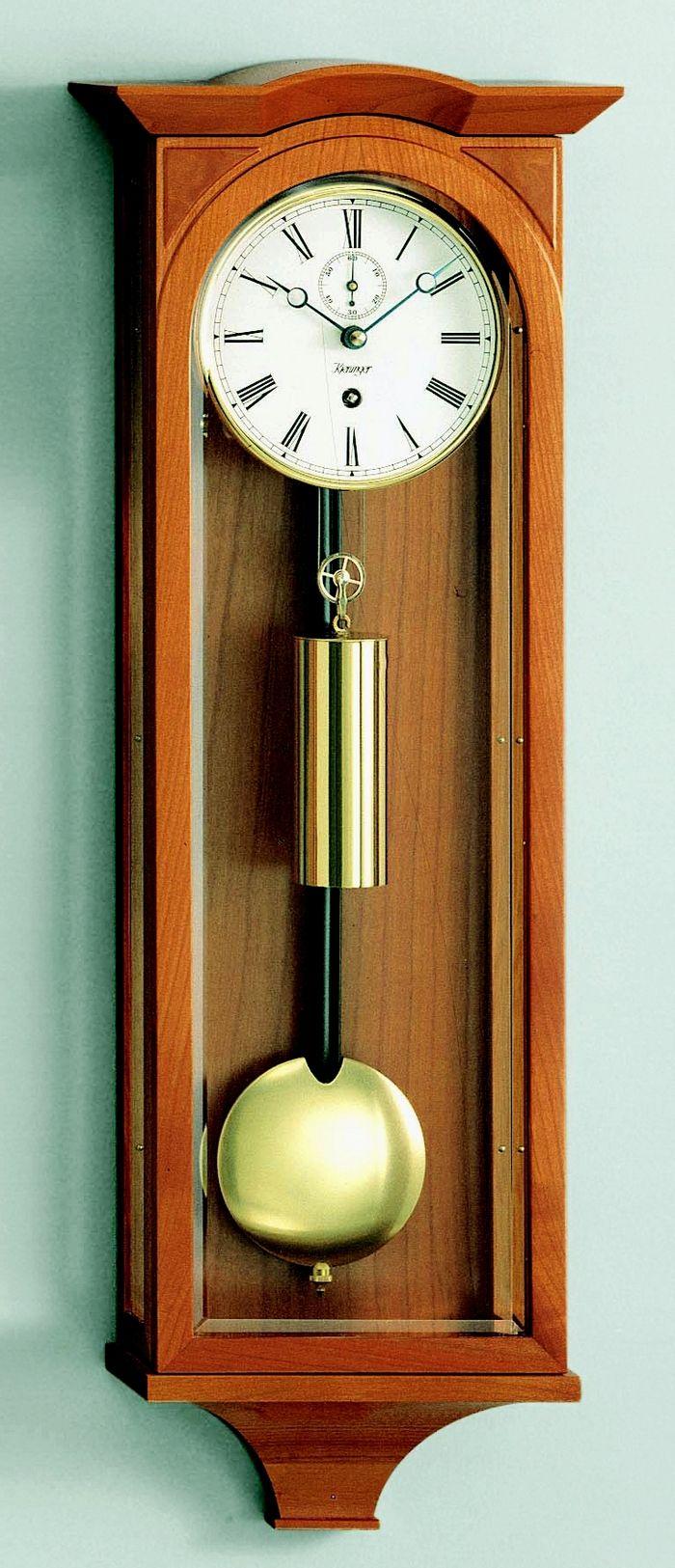 Kieninger Schubert Mechanical Weight Driven Regulator Wall Clock 2803 41 01 S Izobrazheniyami Nastennye Chasy Chasy Aerofotosemka