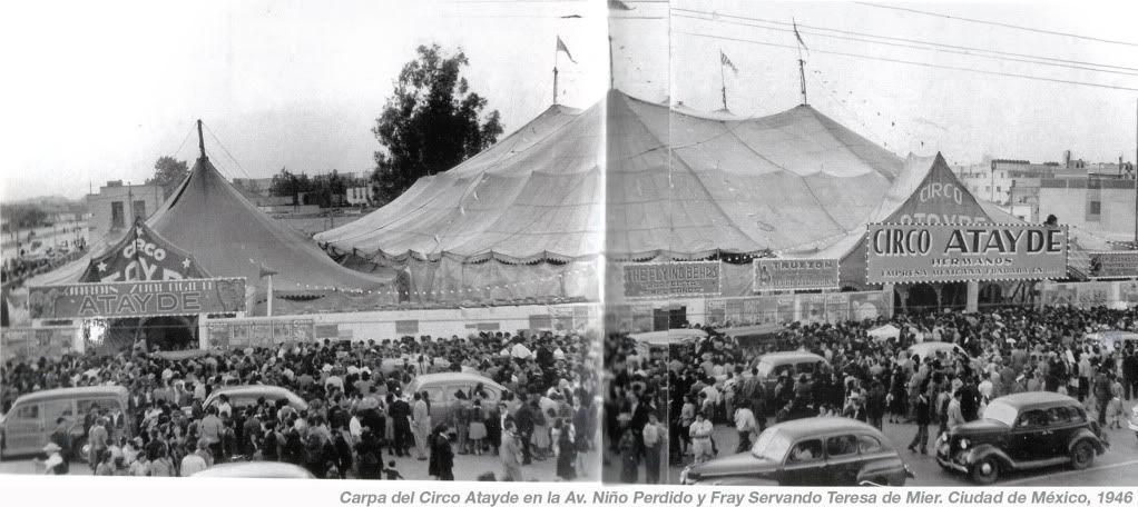 Resultado de imagen para circo atayde ciudad de mexico
