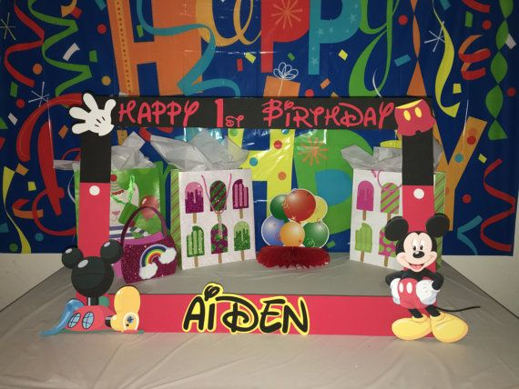 Mickey Mouse Clubhouse Party Photo Booth Frame Products In 2019