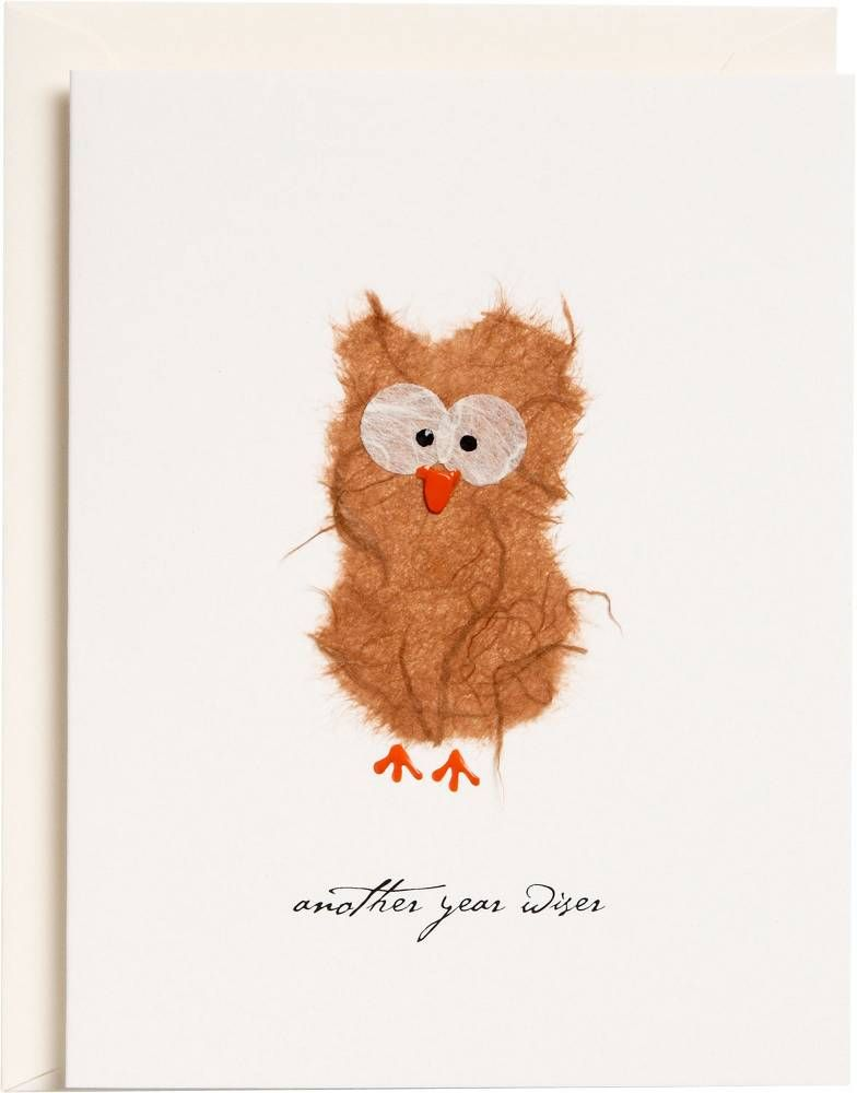 Owl Birthday Card Greeting Cards Paper Source Happy Birthday Cards Handmade Owl Birthday Birthday Cards