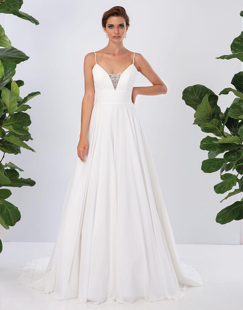 Pin By Brides By Solo Wedding Dress On Lillian West 2020 Collection Plain Wedding Dress Wedding Dresses Satin Popular Wedding Dresses [ 1274 x 1000 Pixel ]