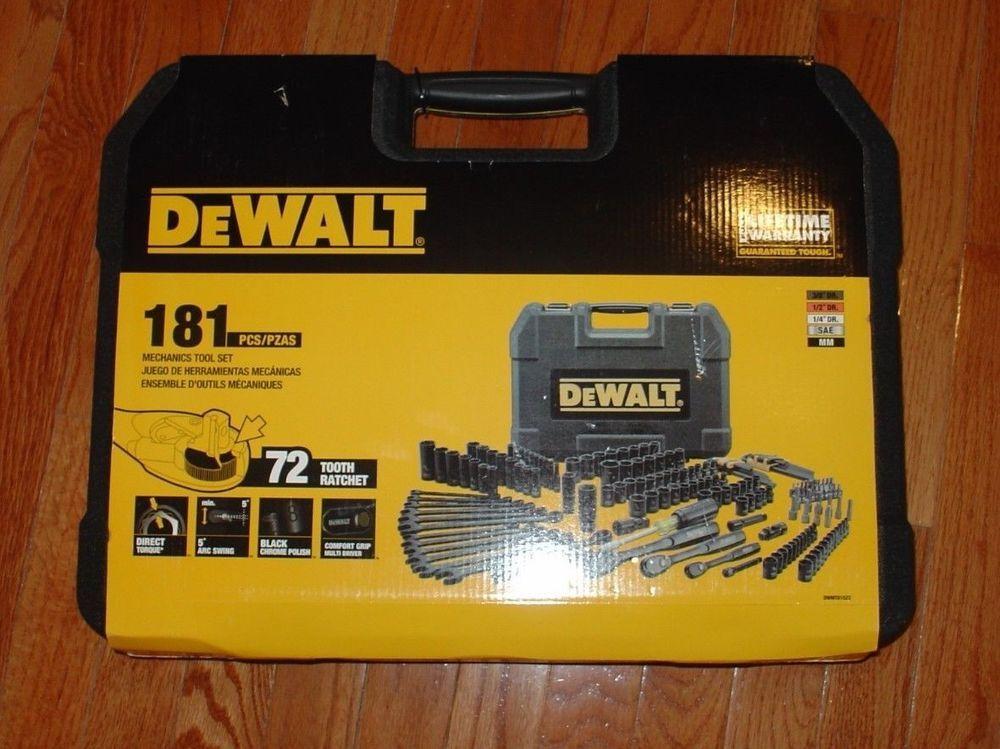 Dewalt tool set 181 hex socket screwdriver