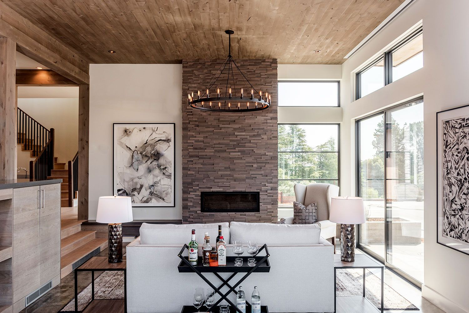 Natural Elements In A California Home Rue With Images