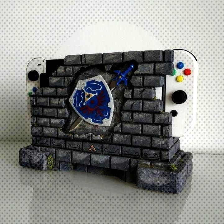 of Zelda Switch Dock made by MugenNoMise -Legend of Zelda Switch Dock made by MugenNoMise -  Get th