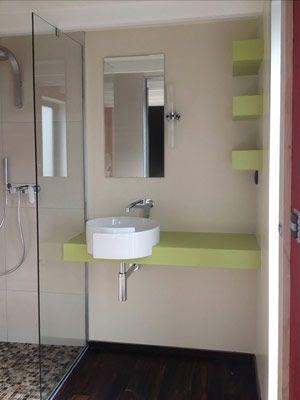 Cr ation d 39 une salle d 39 eau privative avec douche l 39 italienne en - Prix d une salle de bain avec douche italienne ...