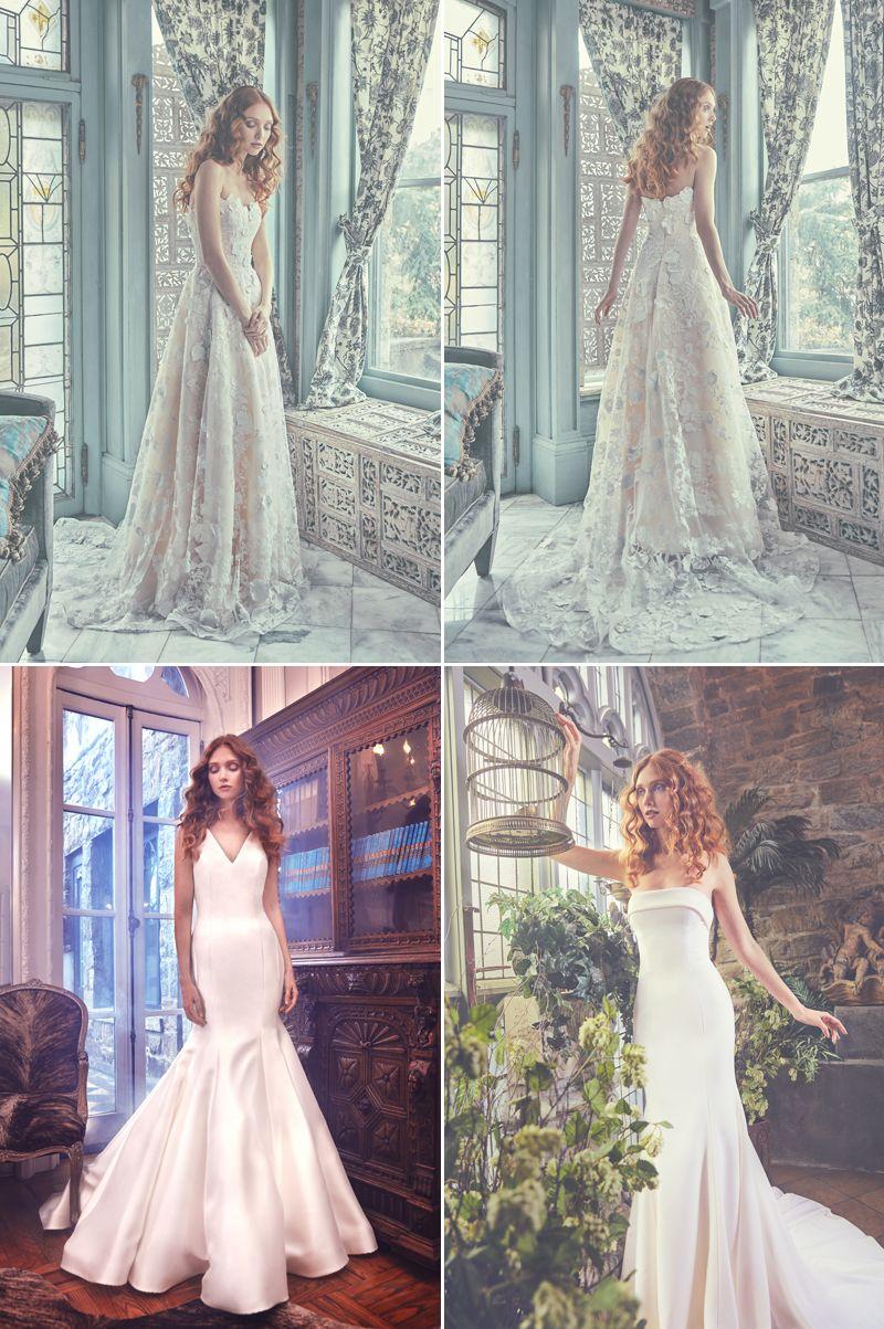 Sareh nouri spring wedding dresse collection for modern chic