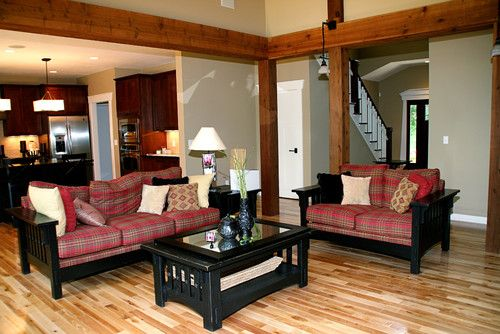 Love the wood beams! Might even work for layout??