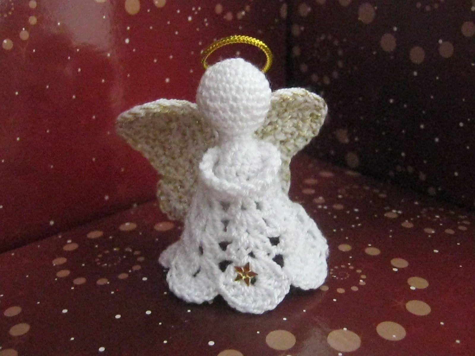 Ángel en crochet