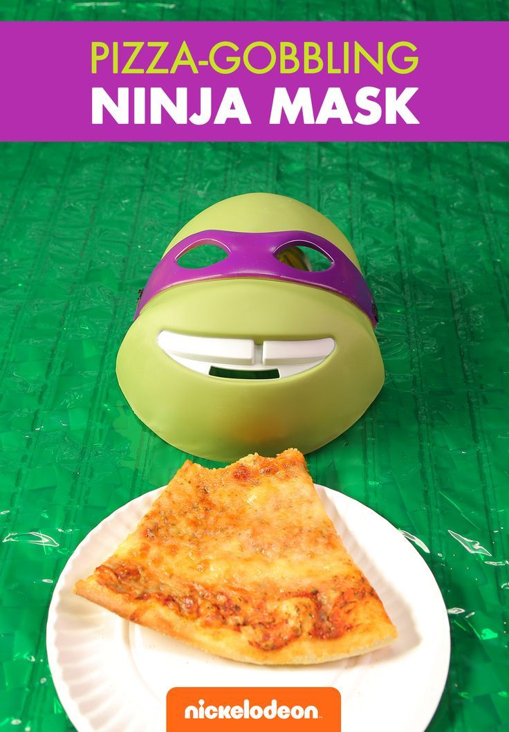 Pizza tastes better when you're dressed like a Ninja Turtle! TMNT masks, accessories and full costumes are available for all ages and sizes.