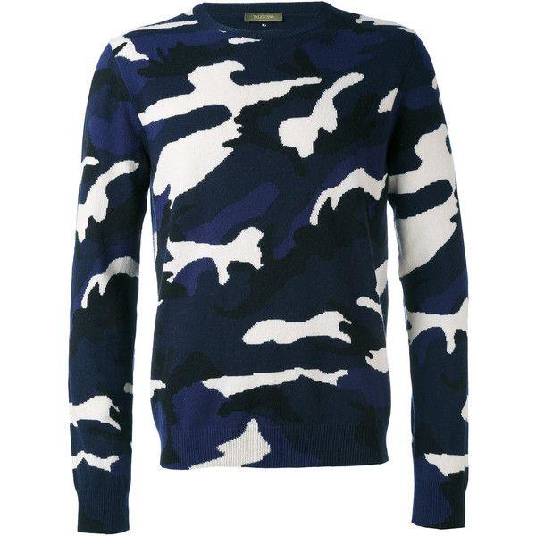 Valentino camo-print jumper ($1,250