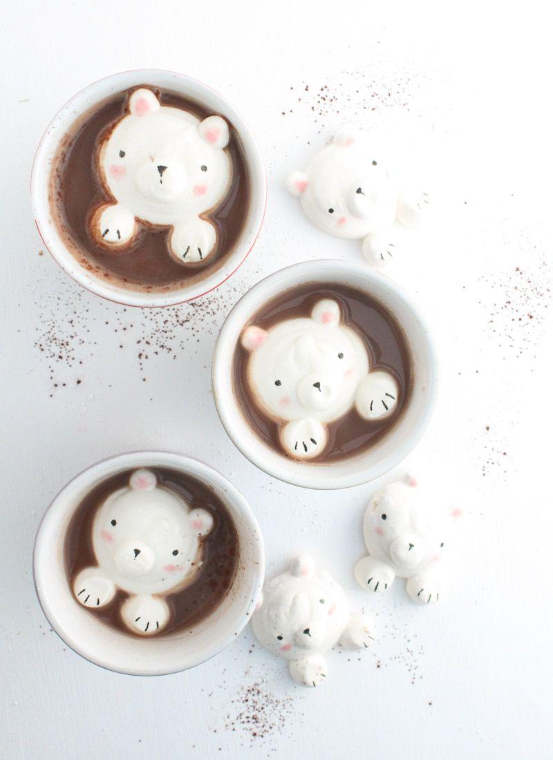 Die goldigste heiße Schokolade, die wir jemals gesehen haben! ♥