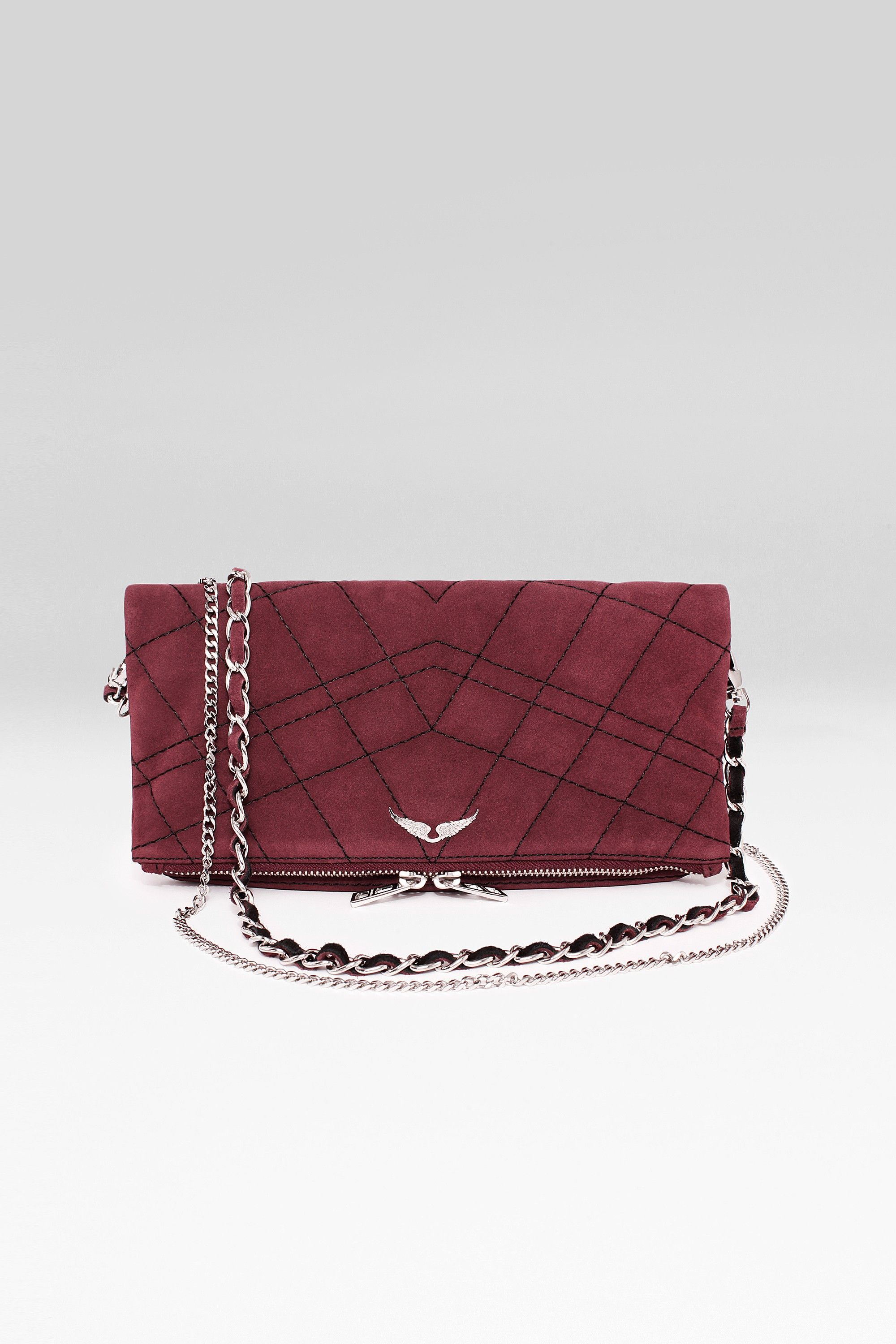 Leather quilted handbags and purses - Image Result For Zadig And Voltaire Bag Suede