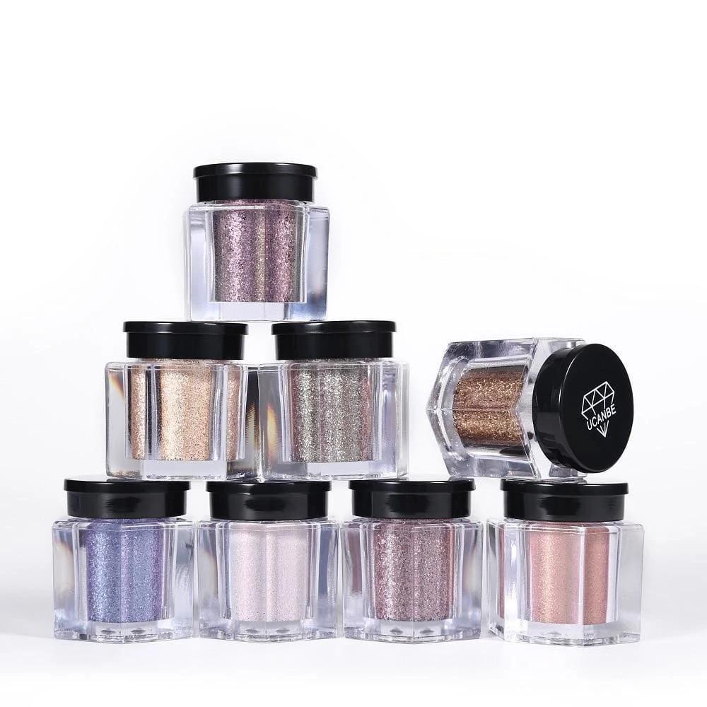 Glitter Powder Eyeshadow Pigment in 2020 Glitter
