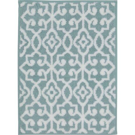 Better Homes and Gardens Thick and Plush Bath Rugs, White