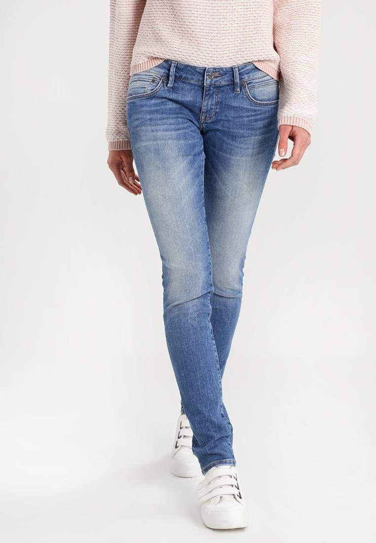 Mavi. LINDY Jeans slim fit stone blue denim. Avvertenze
