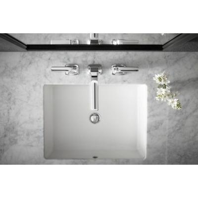 Kohler Verticyl Vitreous China Undermount Bathroom Sink In White