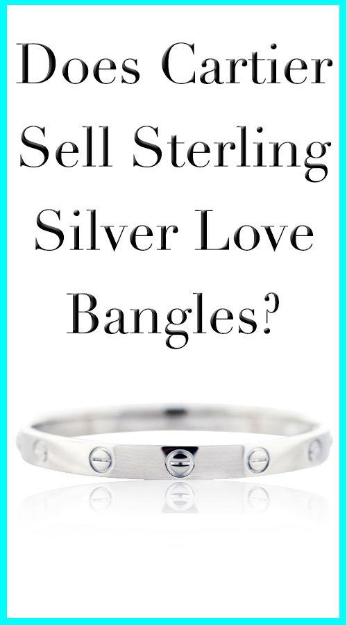 Sterling Silver Cartier Love Bracelets