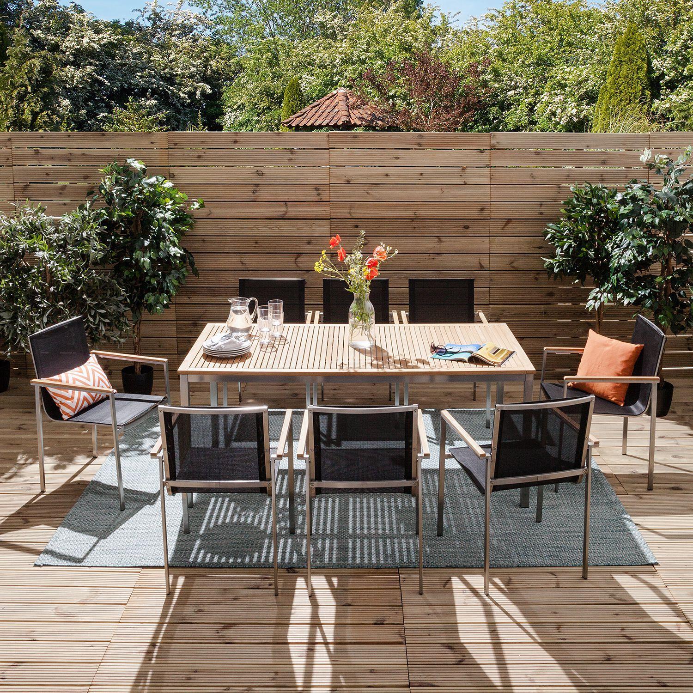 Gartentisch Teakline Exklusiv I In 2021 Gartentisch Garten Essgruppe Gartentisch Mit Stuhlen