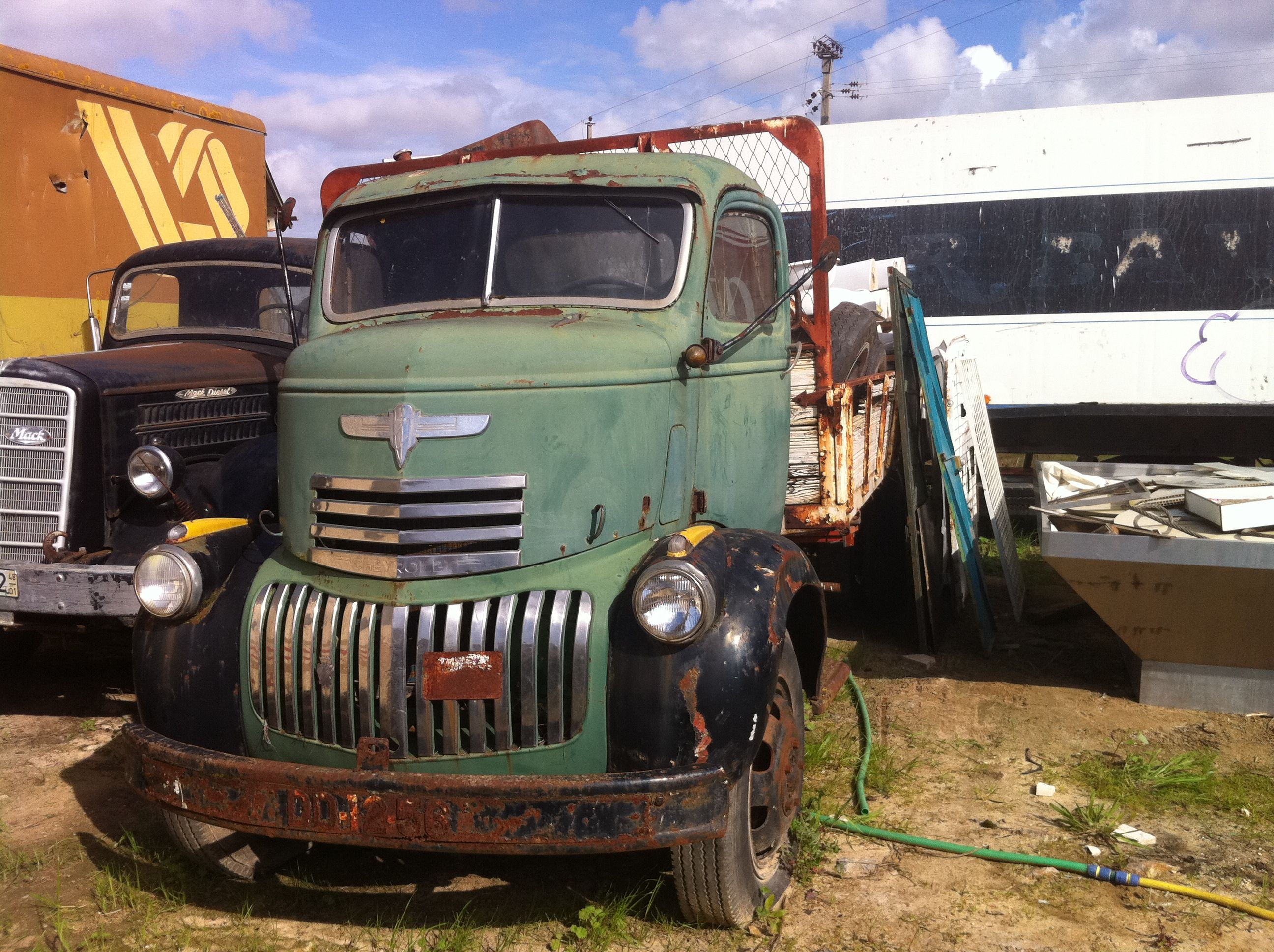 Abandoned Chevrolet carbover truck 1941