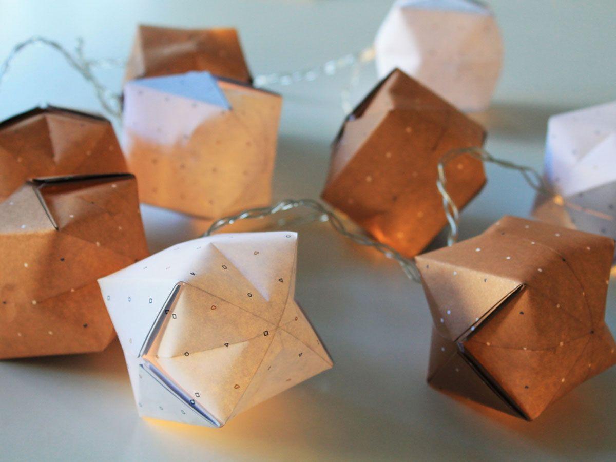 origami lichterkette basteln my blog. Black Bedroom Furniture Sets. Home Design Ideas