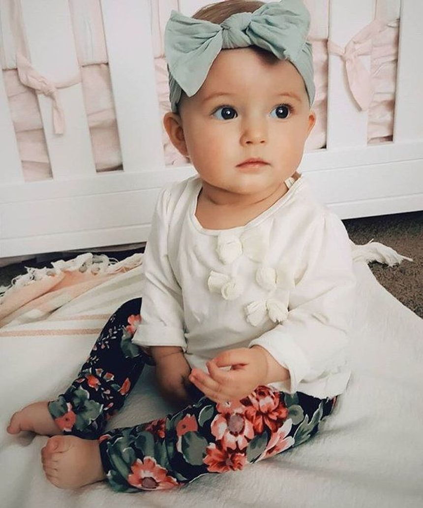 Cutest baby girl clothes outfit 6  Cute baby girl, Cute baby