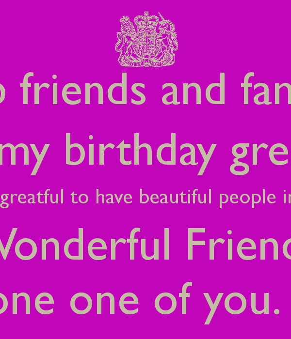 HOW TO SAY THANK YOU TO YOUR FRIENDS FOR BIRTHDAY WISHES ON – Thank You Message for Birthday Greetings on Facebook