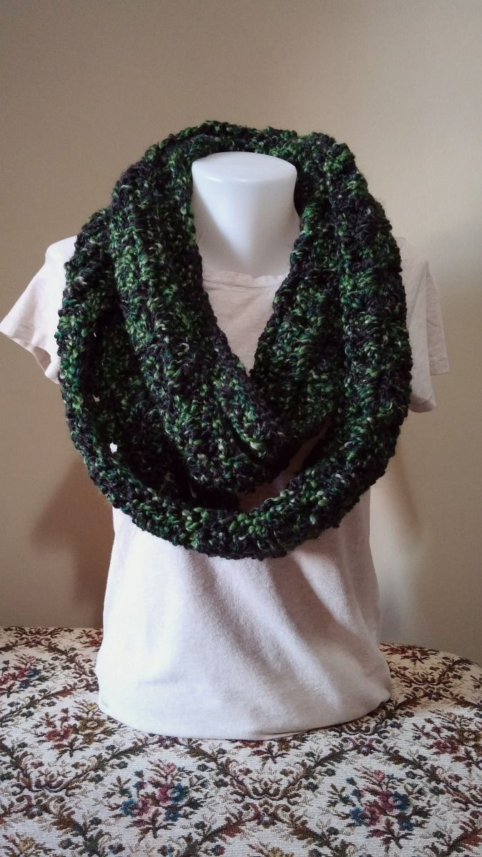 Free Pattern Friday (A Day Late) – Dark Forest Scarf