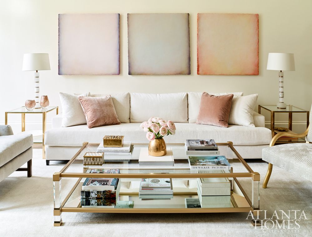 Artwork For Formal Living Room Leather Reclining Furniture Sets A Trio Of Oil Paintings On Canvas By Katharina Chapuis From Pryor Fine Art Introduce Subtle Pastel Tones To The