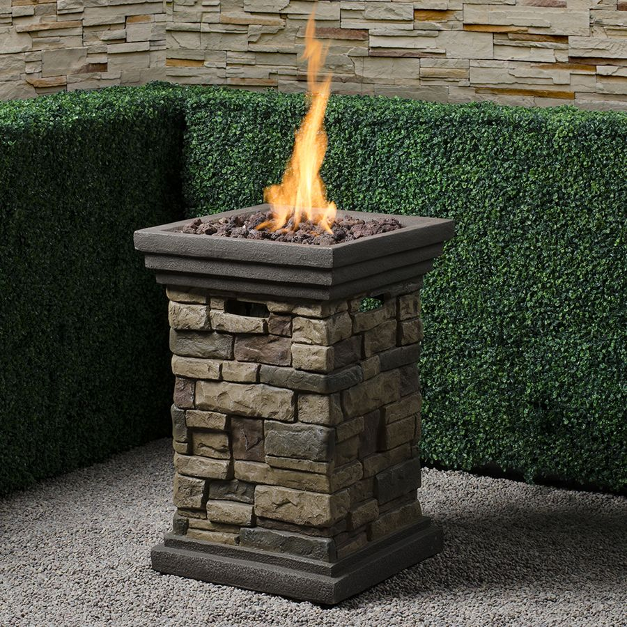 gas fire pillar - i need 2 for my deck. Love this!