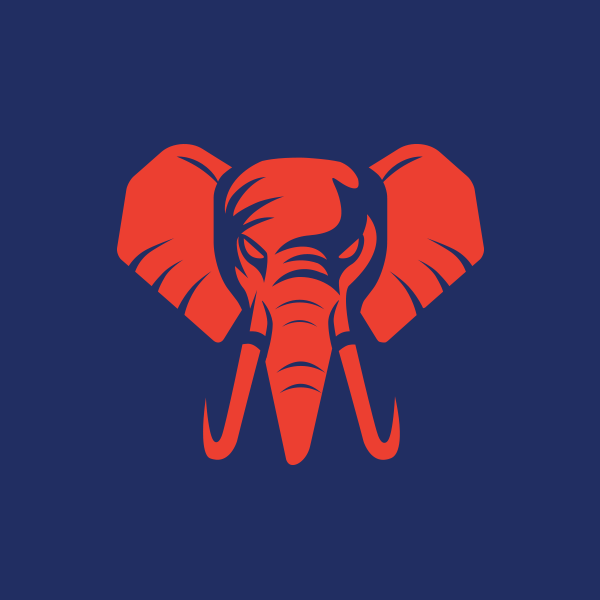 Angry Elephant Logo Elephant Logo Design Elephant Logo Graphic Design Logo