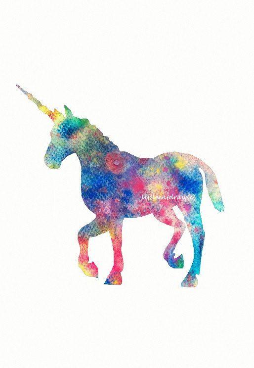 Unicorn watercolor - Google Search | Tattoos | Pinterest | Unicorns ...