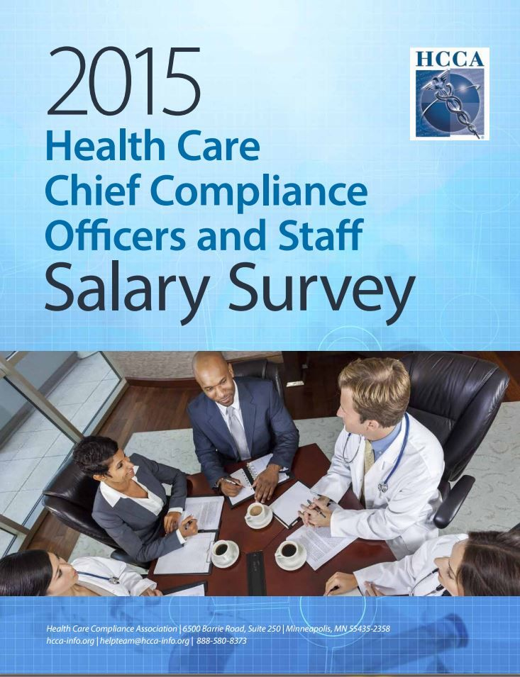 HCCA's 2015 Salary Survey Report is Now Available