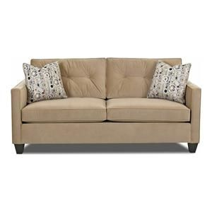 Queen Dreamquest Sleeper In Nina Coffee Nebraska Furniture Mart Furniture Chic Sofa Leather Sofa Bed
