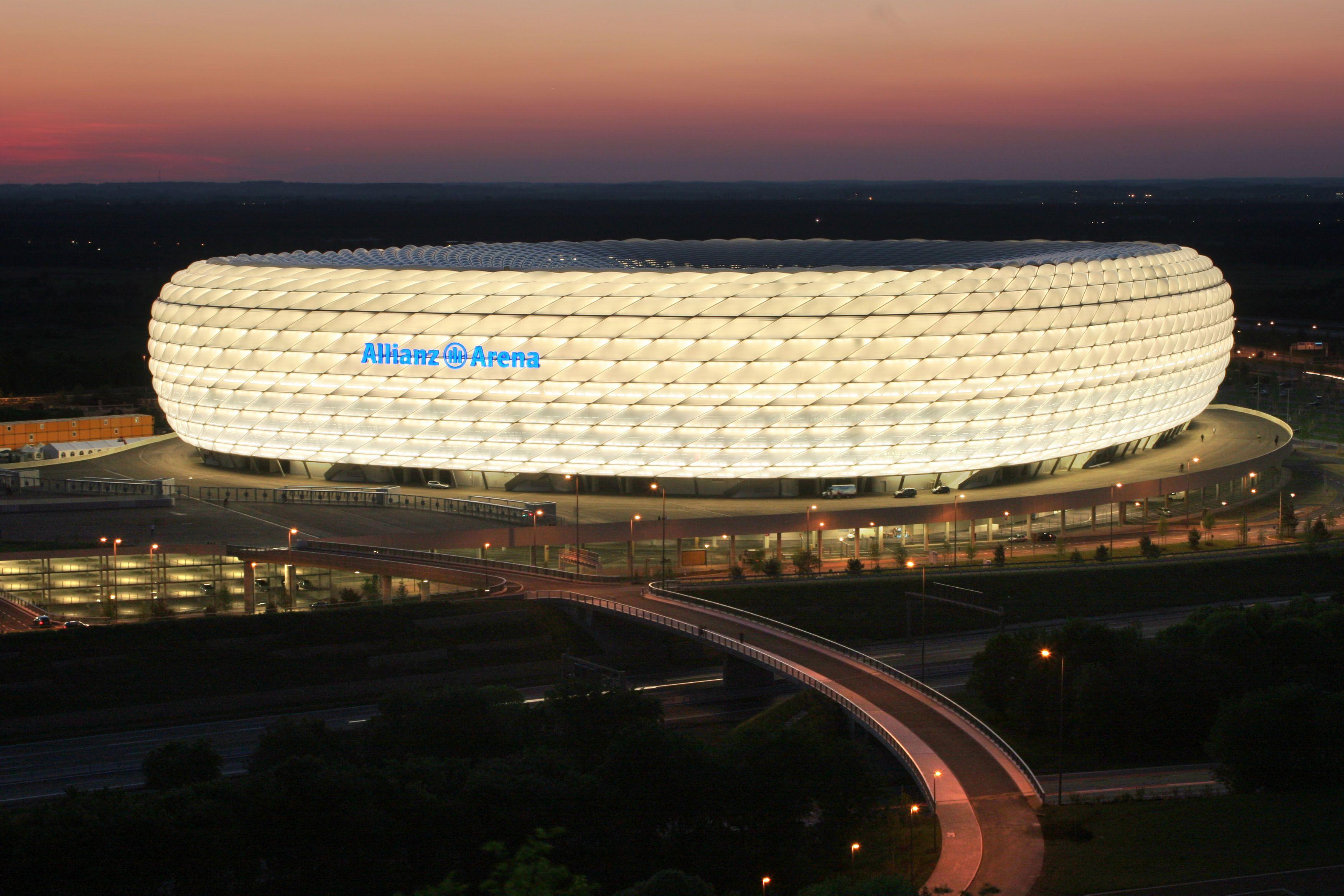 Madison Square Garden: Allianz Arena, Munich, Germany