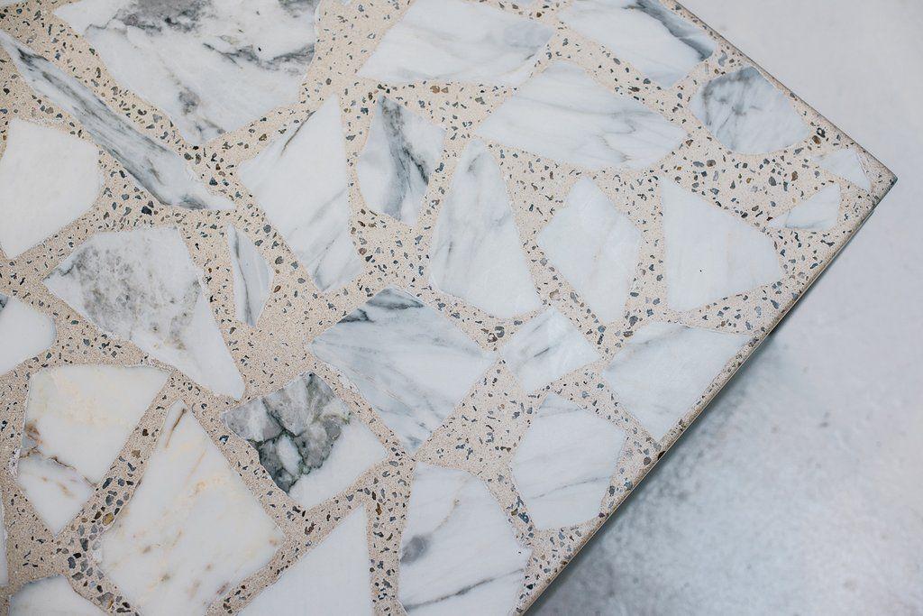 Alpha terrazzo coffee table terrazzo materials and