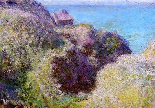 The Gorge at Varengeville, Late Afternoon - Claude Monet