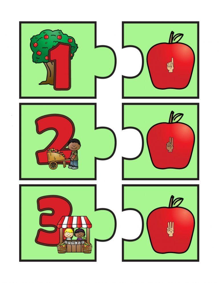 Educacao Infantil Quebra Cabeca Numeros E Quantidades Numeros E Quantidades Educacao Infantil Numeros