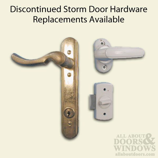Emco 3 Post Storm Door Handle Set Discontinued Replacement Available Door Handles Storm Door Handle Door Handle Sets