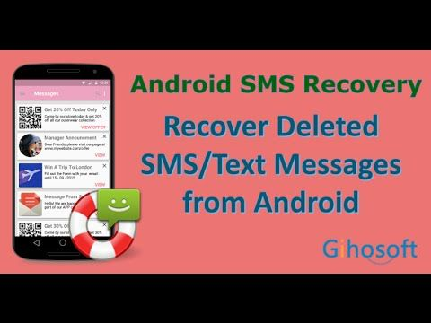 How To Recover Deleted Sms Text Messages From Android Sms Text Message Text Messages Data Recovery