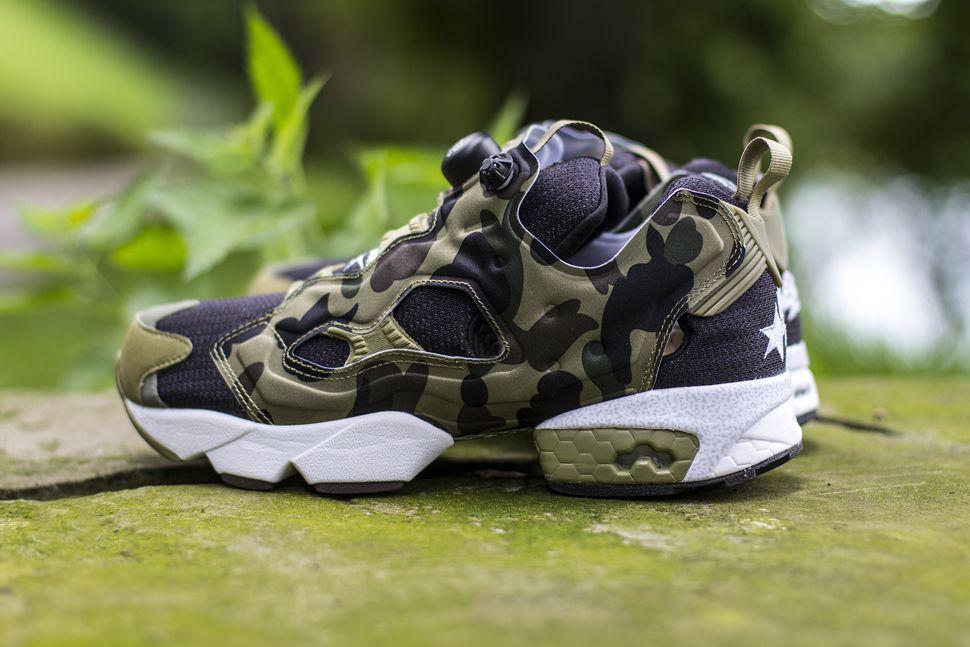 "73ea32aa601 Reebok Insta Pump Fury OG ""Camo"" x BAPE x mita (Releasing) - EU Kicks   Sneaker Magazine"