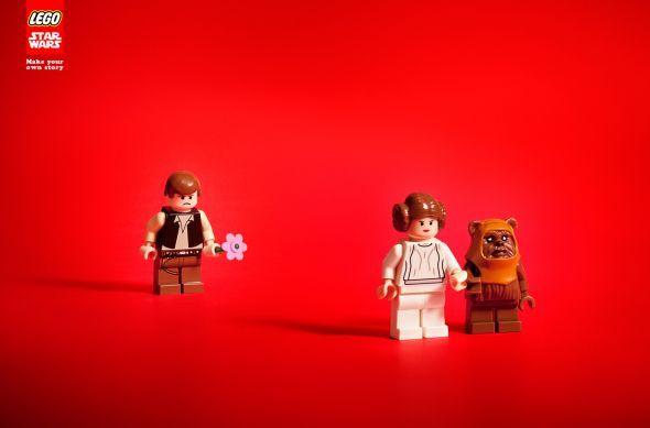 <3 legos and ewoks.