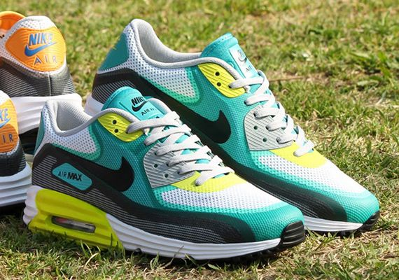 Nike Air Max 90 Lunar C3.0 White Tribal Green Atomic Teal