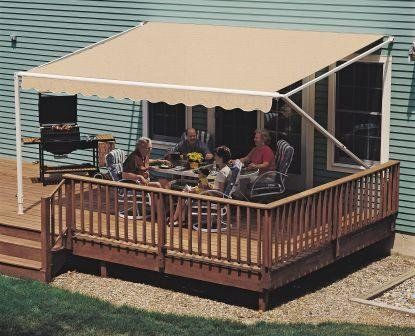 Amazon 12FT Sand 900XT Retractable Awning Patio Awnings Lawn