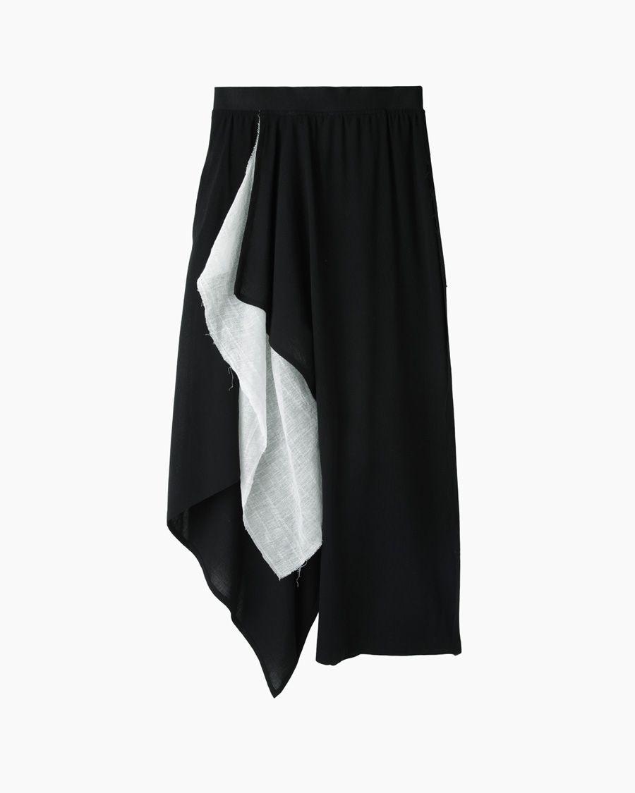 Yohji Yamamoto Draped Pants | La Garçonne