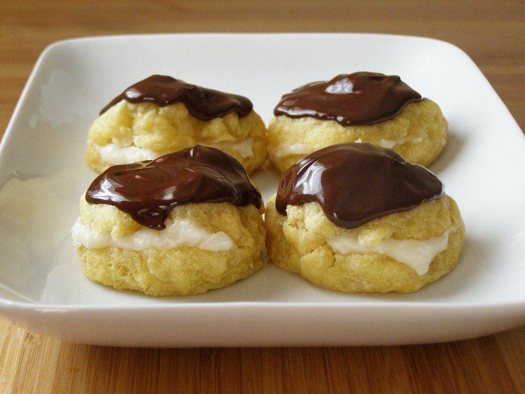 maple•spice: Vegan Cream Puffs!!!