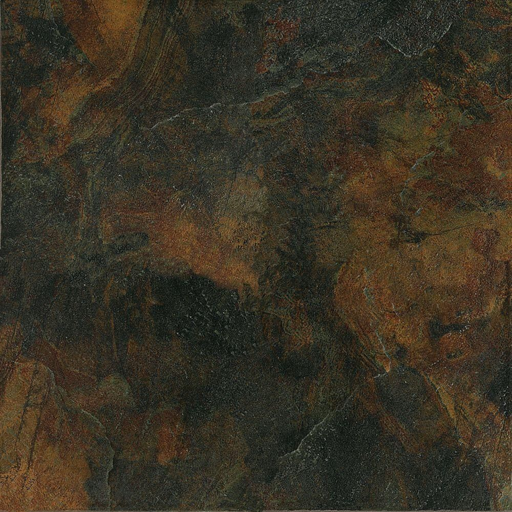 Marazzi imperial slate 12 in x 12 in black ceramic floor and rust ceramic floor and wall tile sq at the home depot close match to kitchen tiles dailygadgetfo Choice Image
